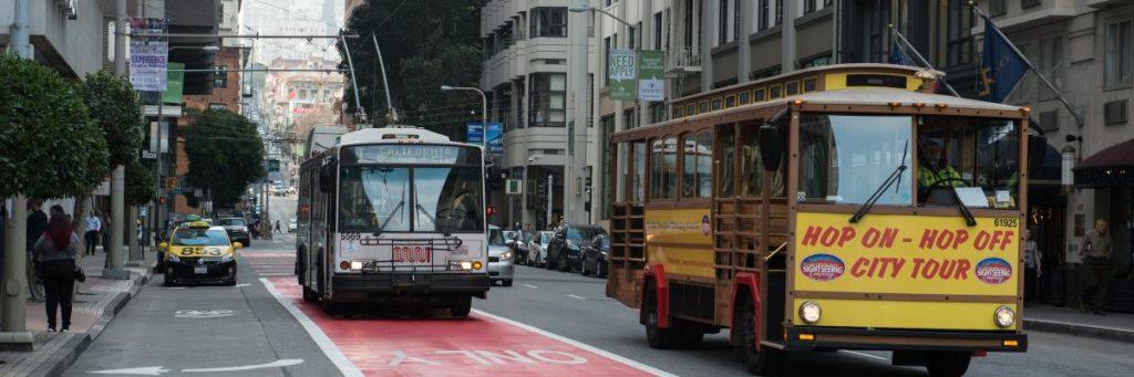 Se déplacer dans San Francisco - Bus SFMTA