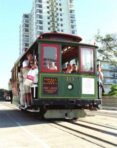 Se déplacer dans San Francisco - En cable car