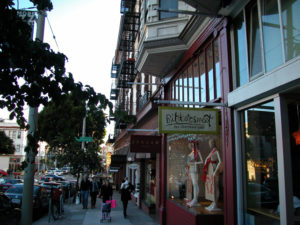 Fillmore Street - Shopping à San Francisco