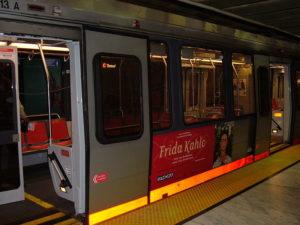 Se déplacer dans San Francisco - En métro